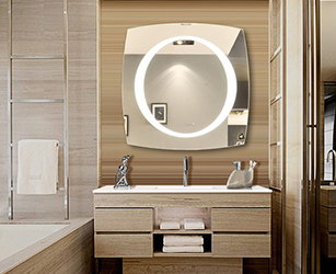 Visit here to buy light wall mirror, illuminated mirror, illuminated bathroom mirror