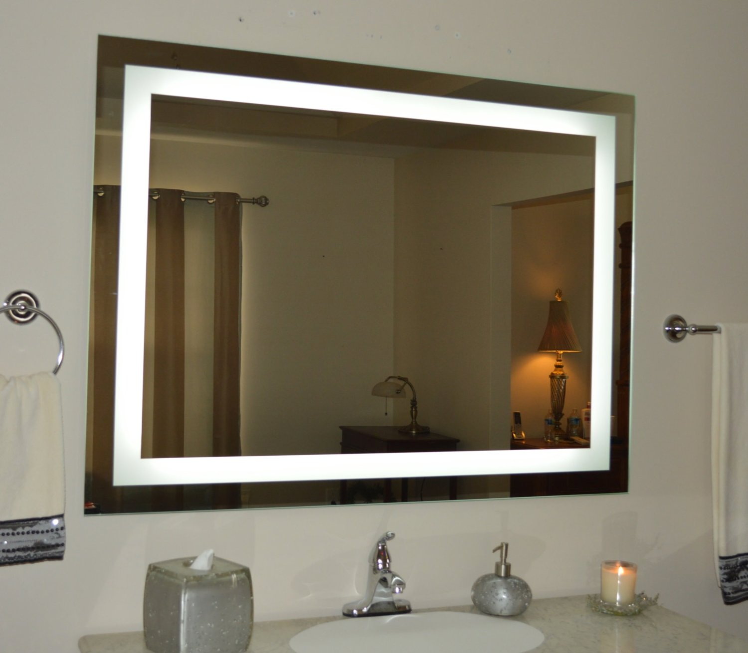 Lighted bathroom vanity mirrors - Lighted Bathroom Vanity Mirrors